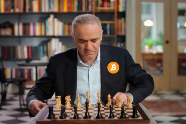 Garry Kasparov supports Bitcoin